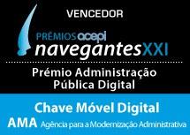 Chave Móvel Digital ganha prémio Administração Pública Digital 2015 - Navegantes XXI entregue pela acepi